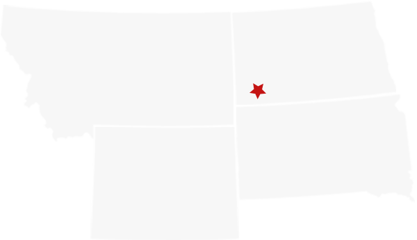 states map of Little Missouri Ranch Supply
